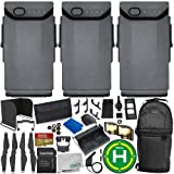 Everything You Need Ultimate Accessory Bundle (3-Battery, for Mavic Air) (Color: For Mavic Air, Tamaño: 3-Battery)
