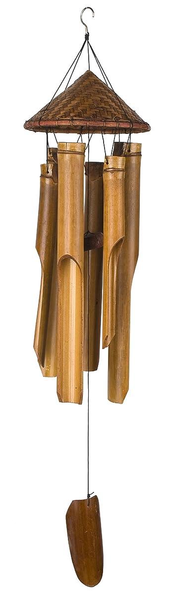 Woodstock Asli Arts 35 Inch Woven Hat Wind Chime