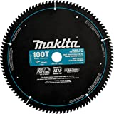 Makita A-94817 12-Inch 100 Tooth Ultra Coated Mitersaw Blade (Color: Black)