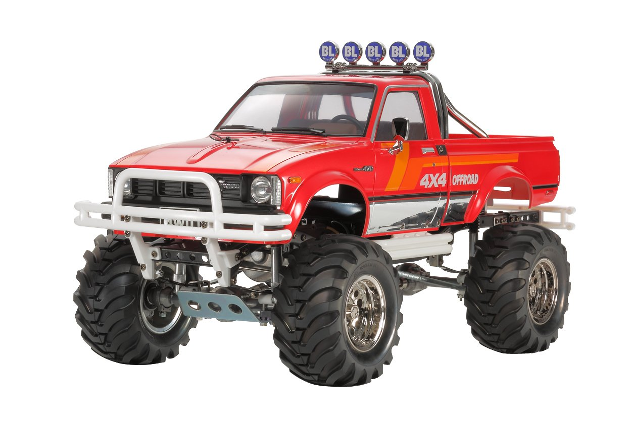 tamiya japan toyota hilux 4x4 mountain rider 1 10 rc pick up 2014 rn36 inch ebay. Black Bedroom Furniture Sets. Home Design Ideas
