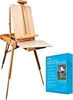 US Art Supply Coronado Sonoma French Style Easel & Sketchbox with 12
