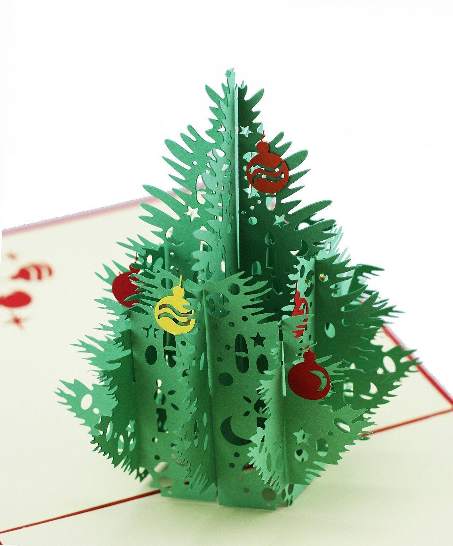 Christmas Village Pop Up Greeting Card