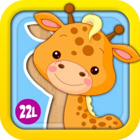 Preschool Puzzles Games with Animated Animals, Vehicles, Ice Creams, Xylophone and Flowers: Fun Learning Activity Adventure for Girls and Boys - Learning Toy for Kids Explorers (Baby, Toddler and Preschool) - by Abby Monkey� 1 educational edition