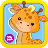 Preschool Puzzles Games with Animated Animals, Vehicles, Ice Creams, Xylophone and Flowers: Fun Learning Activity Adventure for Girls and Boys - Learning Toy for Kids Explorers (Baby, Toddler and Preschool) - by Abby Monkey� 1 educational edition ~ 22learn, LLC