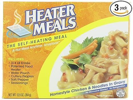Heater Meals Breakfast Heater Meals Homestyle Chicken