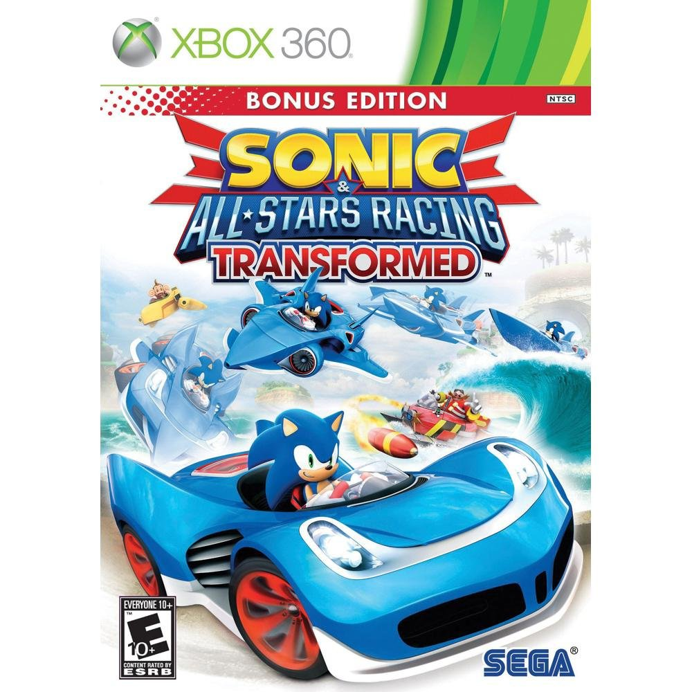 Sonic and All-Stars Racing Transformed Bonus Edition – Xbox 360 $19.52