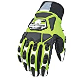 Youngstown Glove 09-9083-10-XXXL Titan XT Lined Kevlar Glove, XXX-Large, Green (Color: Green, Tamaño: 3X-Large)