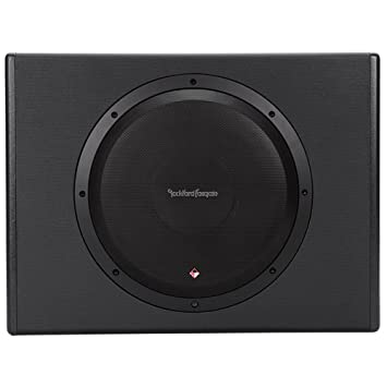 Rockford Fosgate P300-12 Punch 300 Watt Powered Loaded 12-Inch Subwoofer Enclosure at amazon