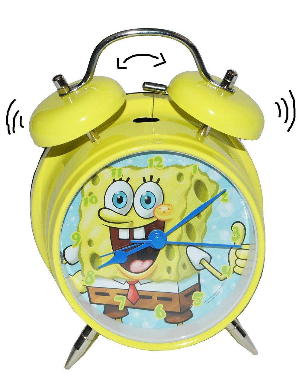 Kinderwecker Spongebob – für Kinder Metall großer Wecker Analog – Alarm Metallwecker – Schwammkopf Robert Jungen Mädchen jetzt kaufen