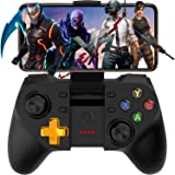 Mobile Game Controller, Megadream Wireless Key Mapping Gamepad Joystick Perfect for PUBG & Fotnite & More, Compatible for iOS Android iPhone iPad Samsung Galaxy Other Phone - No Simulator Needed (Color: Update Fornite PUBG Gamepad)
