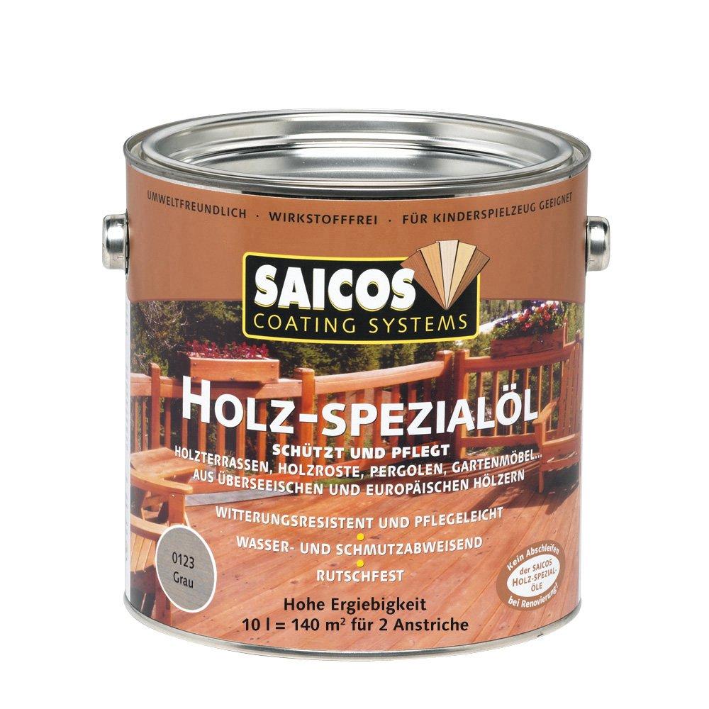 Saicos 0123 700 Holzspezialöl grau 10 Liter  BaumarktKundenbewertung und Beschreibung