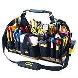 CLC Custom Leathercraft 1530 Electrical and Maintenance Tool Carrier, 43 Pocket (Color: Black, Tamaño: 43 Pocket)