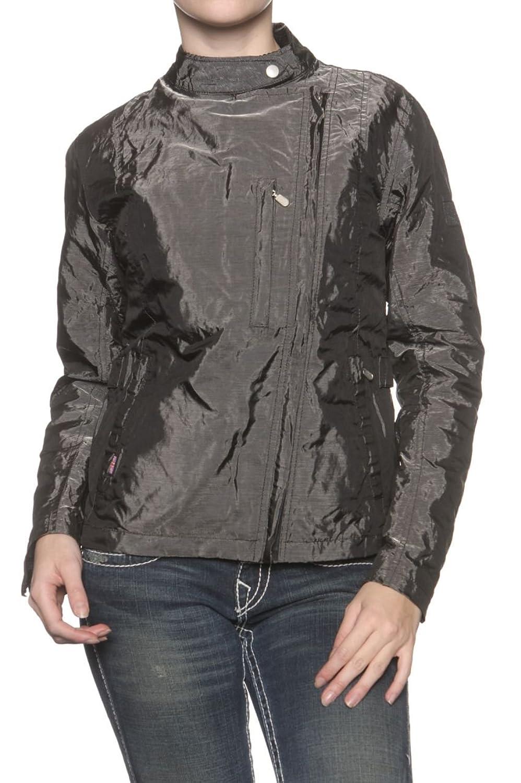 Belstaff Damen Jacke Blouson-Jacke JEAN D'ARC, Farbe: Dunkelgrau