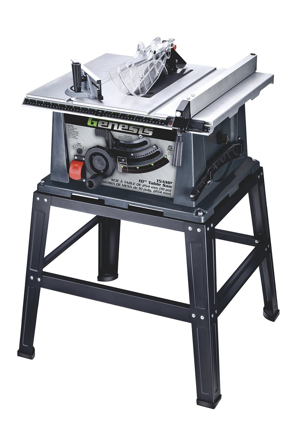 Genesis Gts10sb 10 Inch 15 Amp Table Saw With Stand Ebay