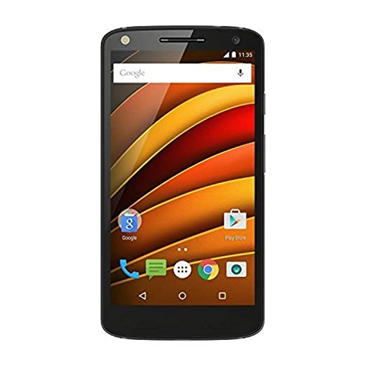 Used Moto X Force  Black, 64 GB  available at Amazon for Rs.22999