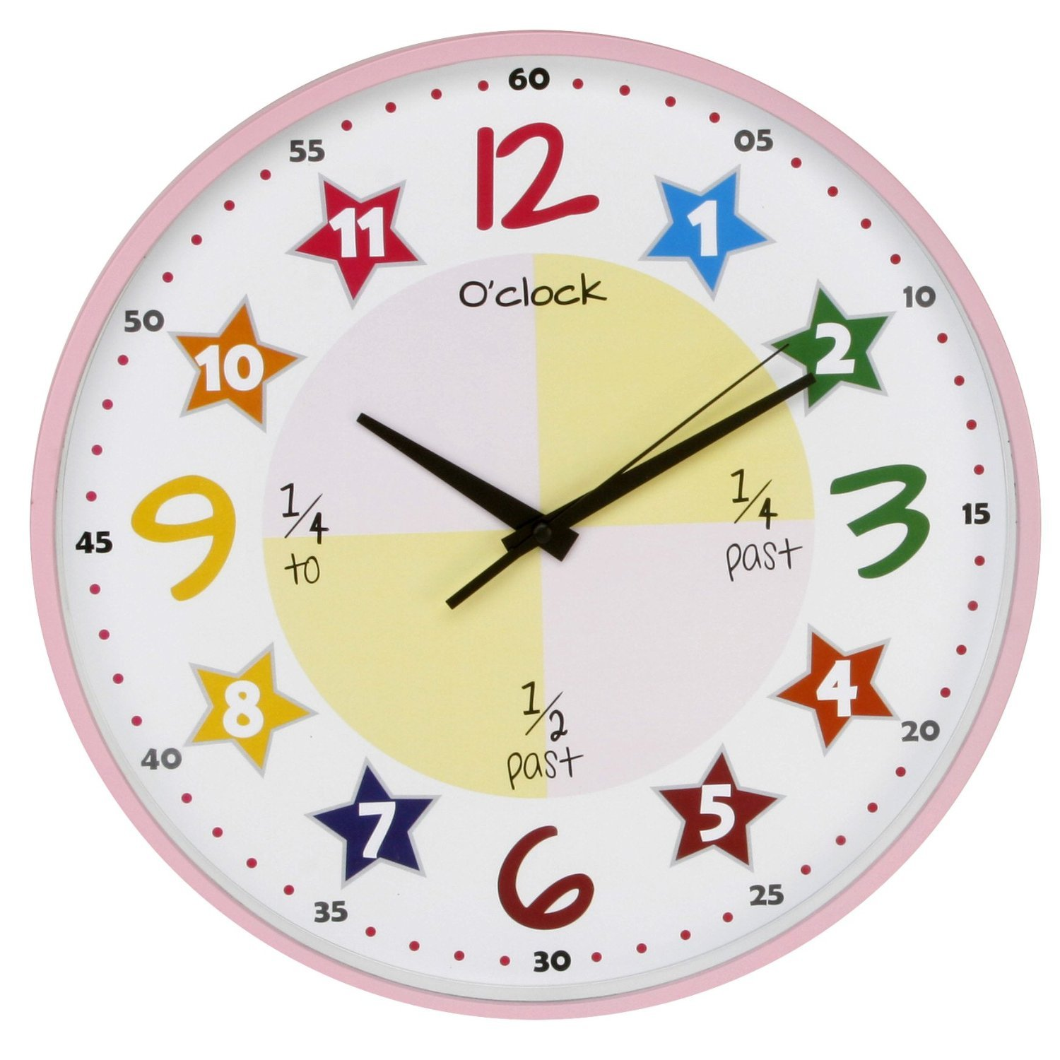 Pictures of Clocks For Teaching Time Teach The Time Wall Clock