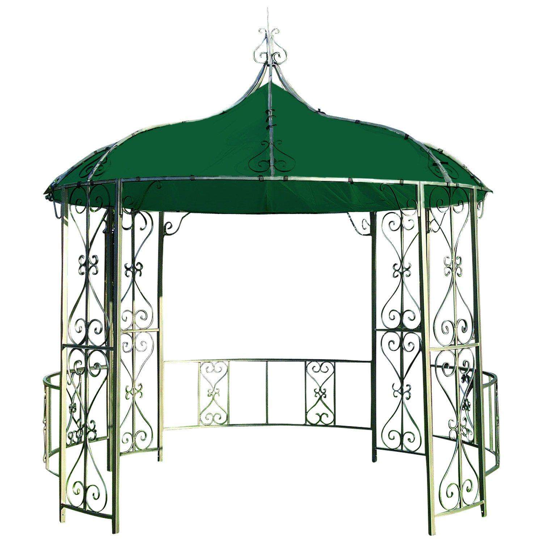 Dachplane für Pavillon BURMA 300cm rund wasserdicht, dunkelgrün günstig bestellen