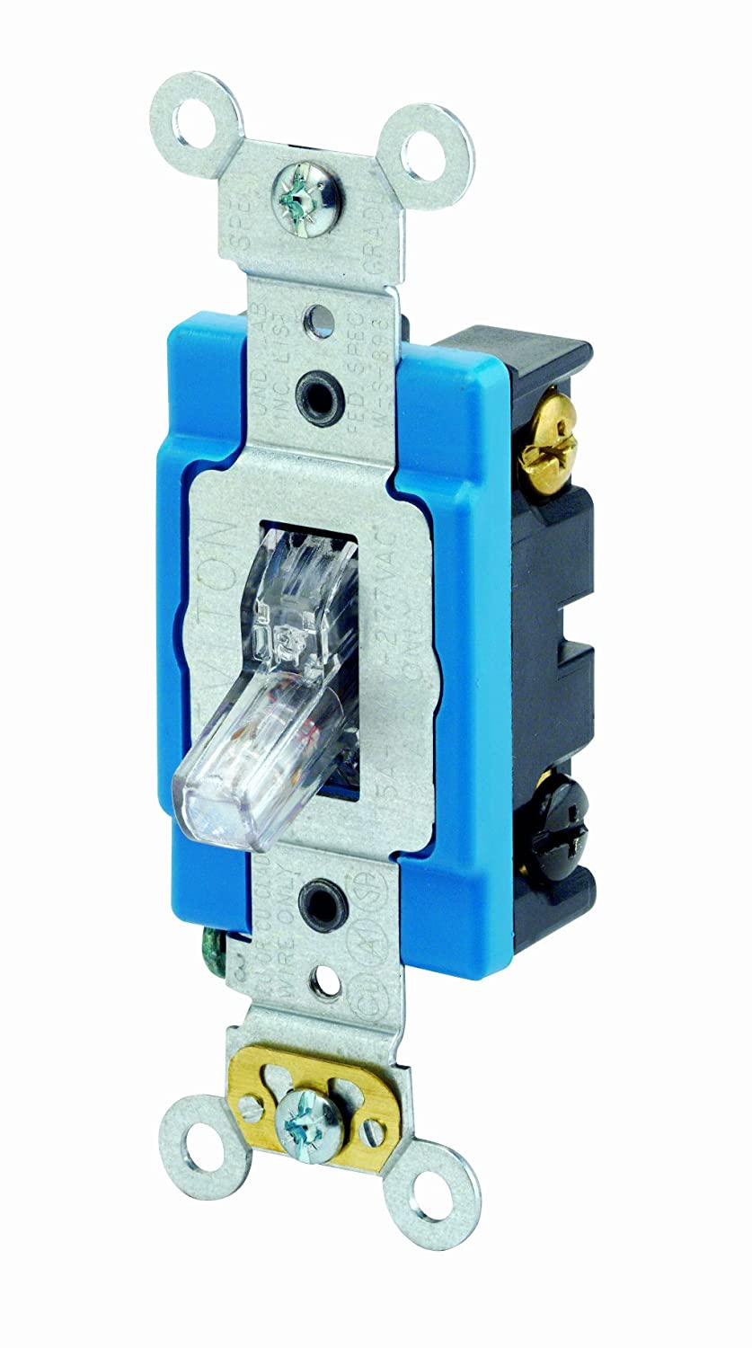 Lighted Light Switches Leviton Switch Wiring Diagram 1201plc 15 Amp 120 Volt Toggle Pilot