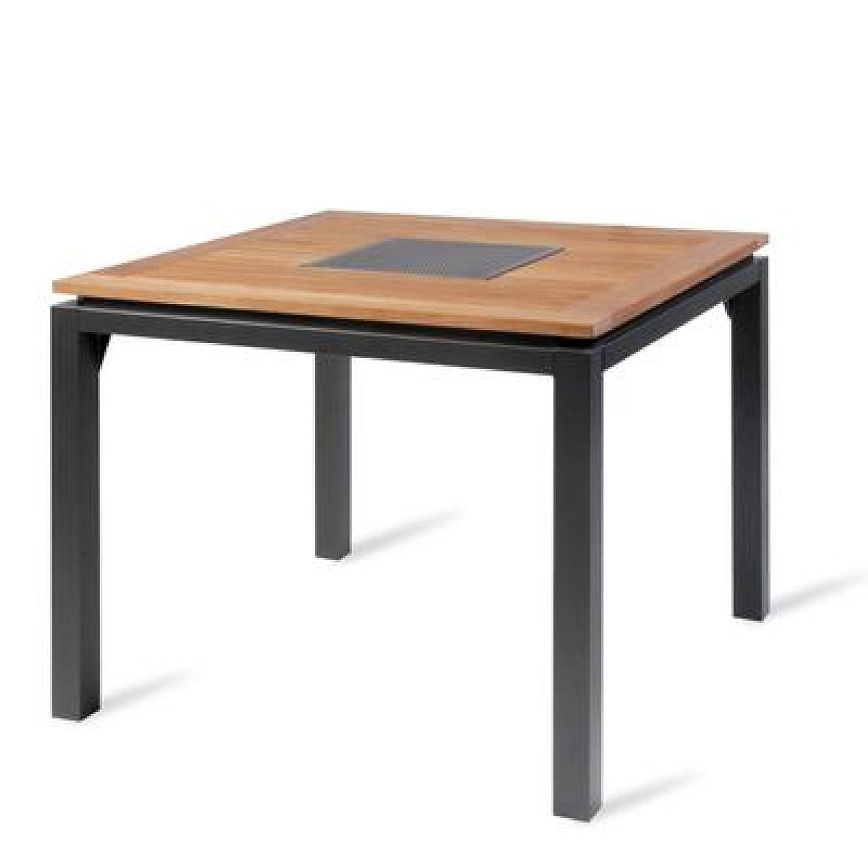 Hartman Concept Tisch 100 x 100 cm Teakholz/Aluminium günstig online kaufen