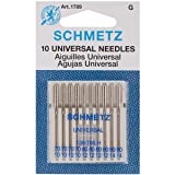 Euro-Notions Universal Machine Needles [New Improved Version] (Tamaño: 1 Pack [New Improved Version])