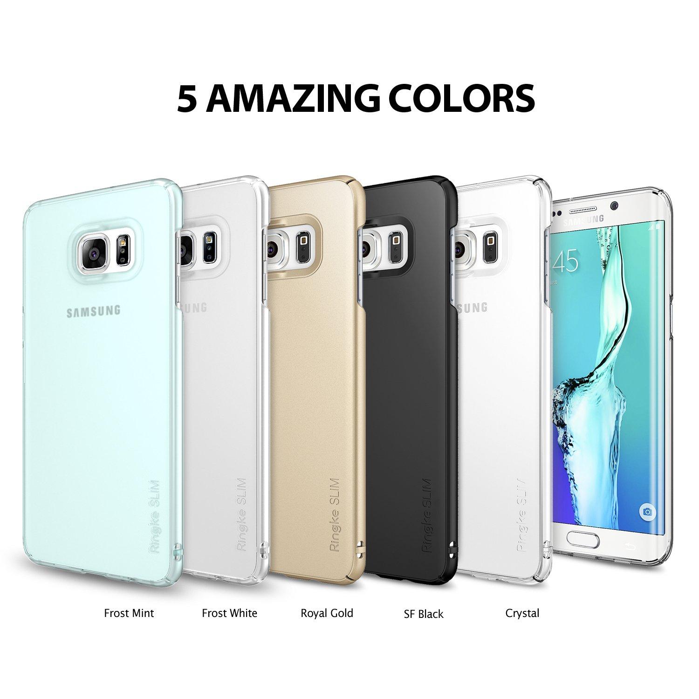 SLIM - SF BLACK. Compatible with Samsung Galaxy S6 Edge+   S6 Edge Plus . 295addc3f4