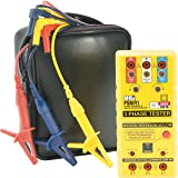 UEi Test Instruments PSMR1 Phase Sequence and Motor Rotation Tester (Color: Yellow, Tamaño: Pack)