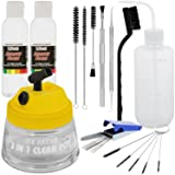 Airbrush Cleaning Kit with Airbursh Cleaning Solution, Cleaning Pot, and Cleaning Tools