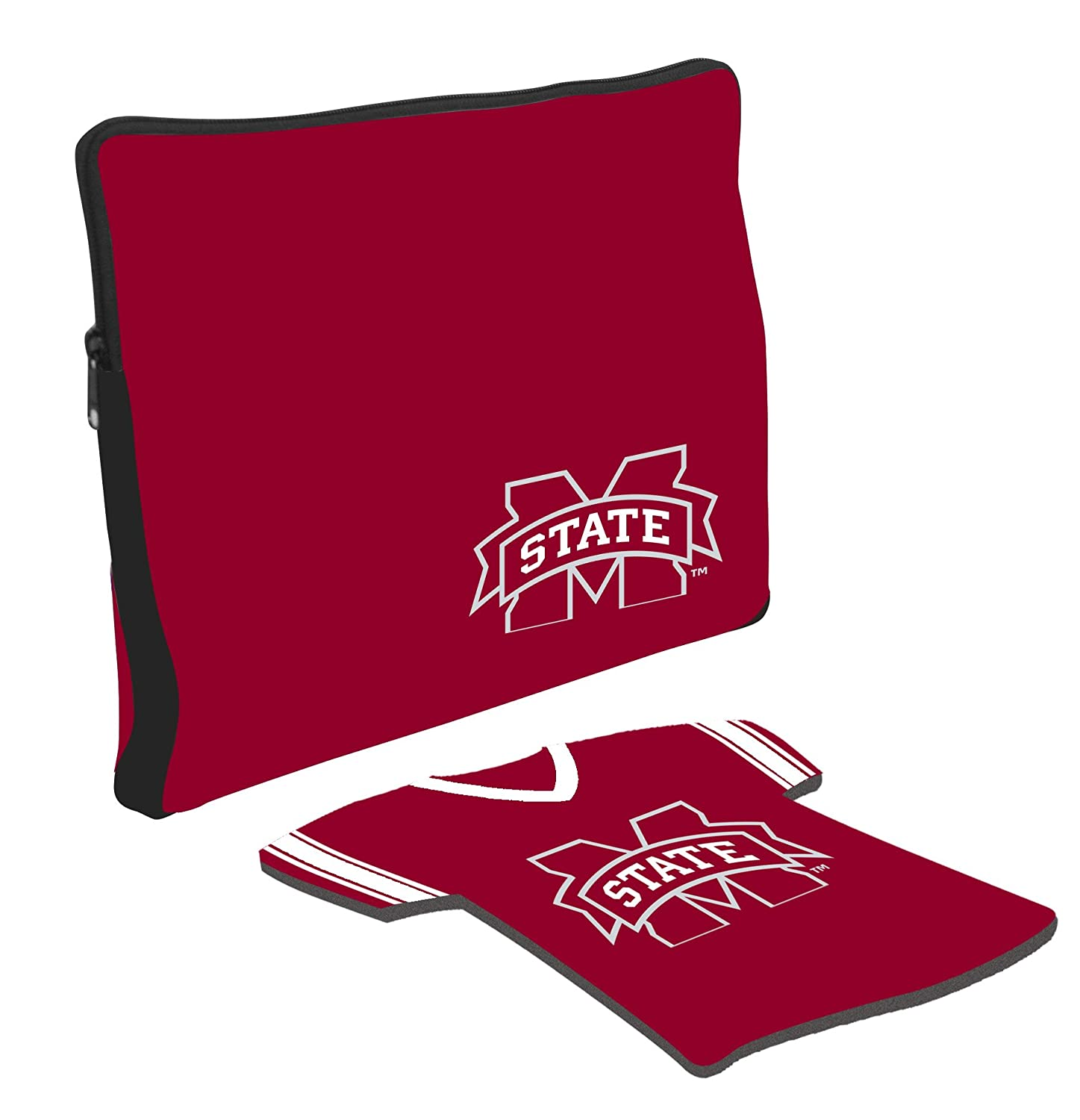 Mississippi State Bulldogs Laptop Jersey and Mouse Pad Set