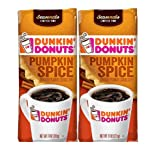 Dunkin Donuts Ground Coffee (Pack of 2) (Pumpkin Spice)11 oz (22 oz Total) (Tamaño: 11 oz (22 oz Total))