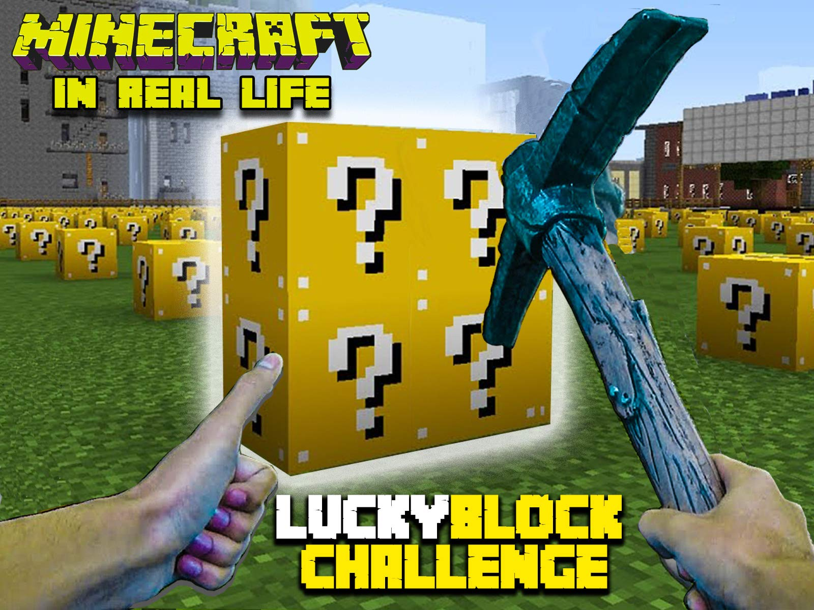 Clip: Minecraft In Real Life - Lucky Block Challenge on Amazon Prime Instant Video UK