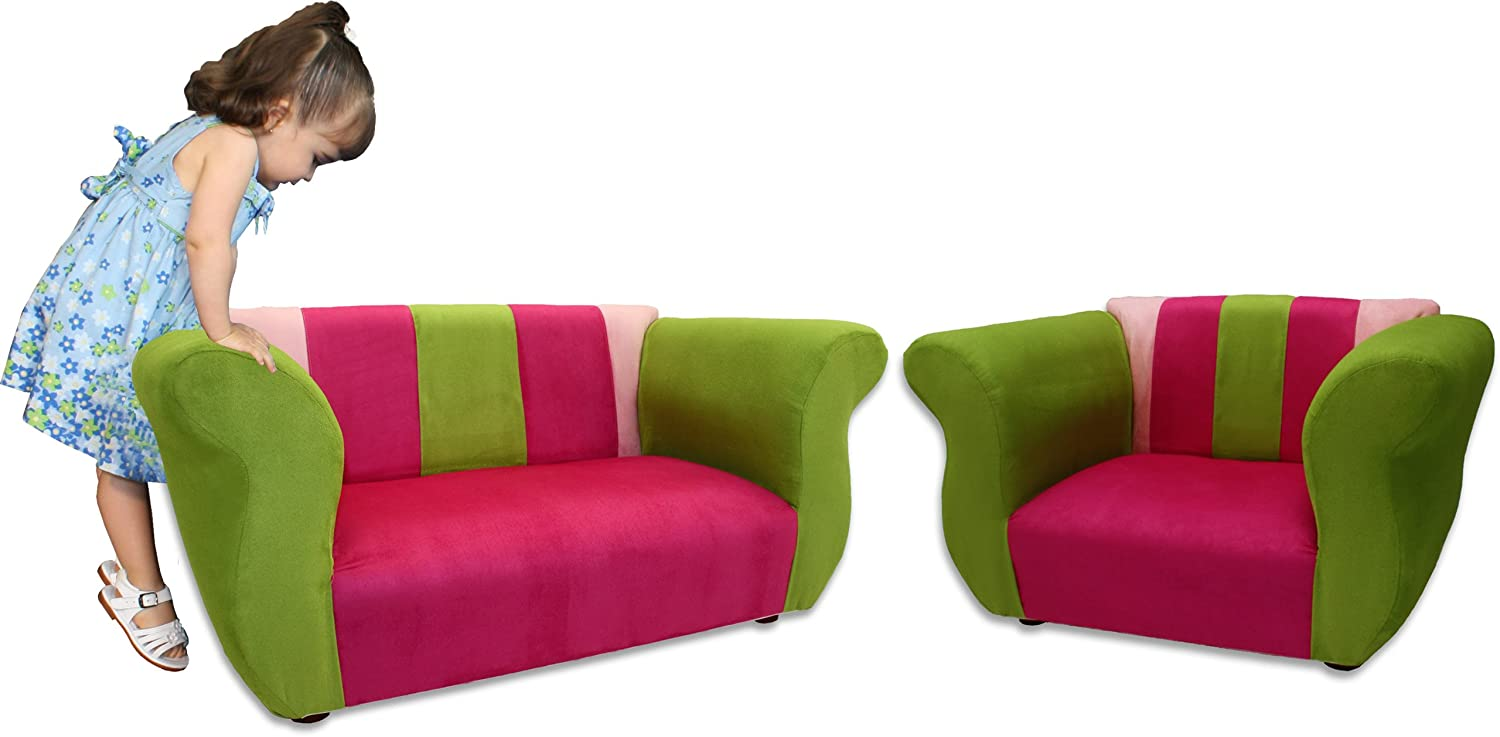Fantasy Furniture Sofa and Chair Fancy Set