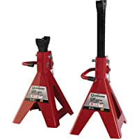 Strongway Double-Locking 12-Ton Jack Stands (Pair)