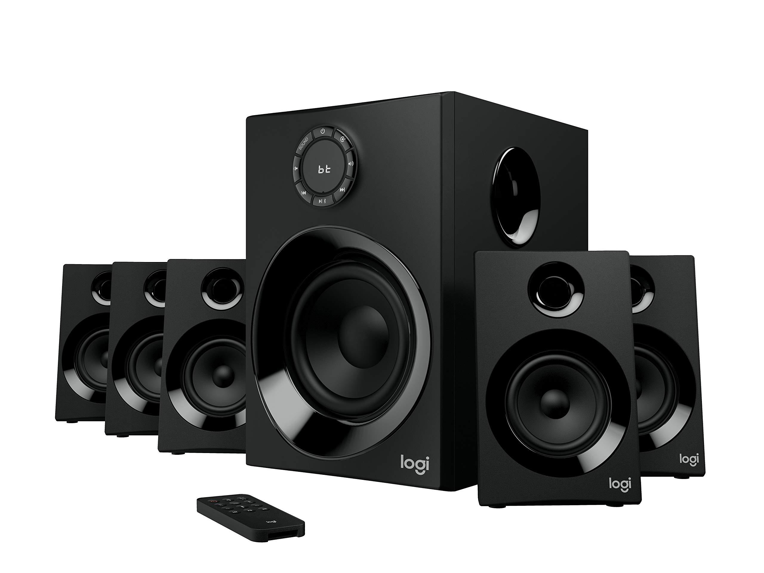 로지텍 Z606 51채널 서라운드 블루투스 스피커 Logitech Z606 51 Surround Sound Speaker System with Bluetooth