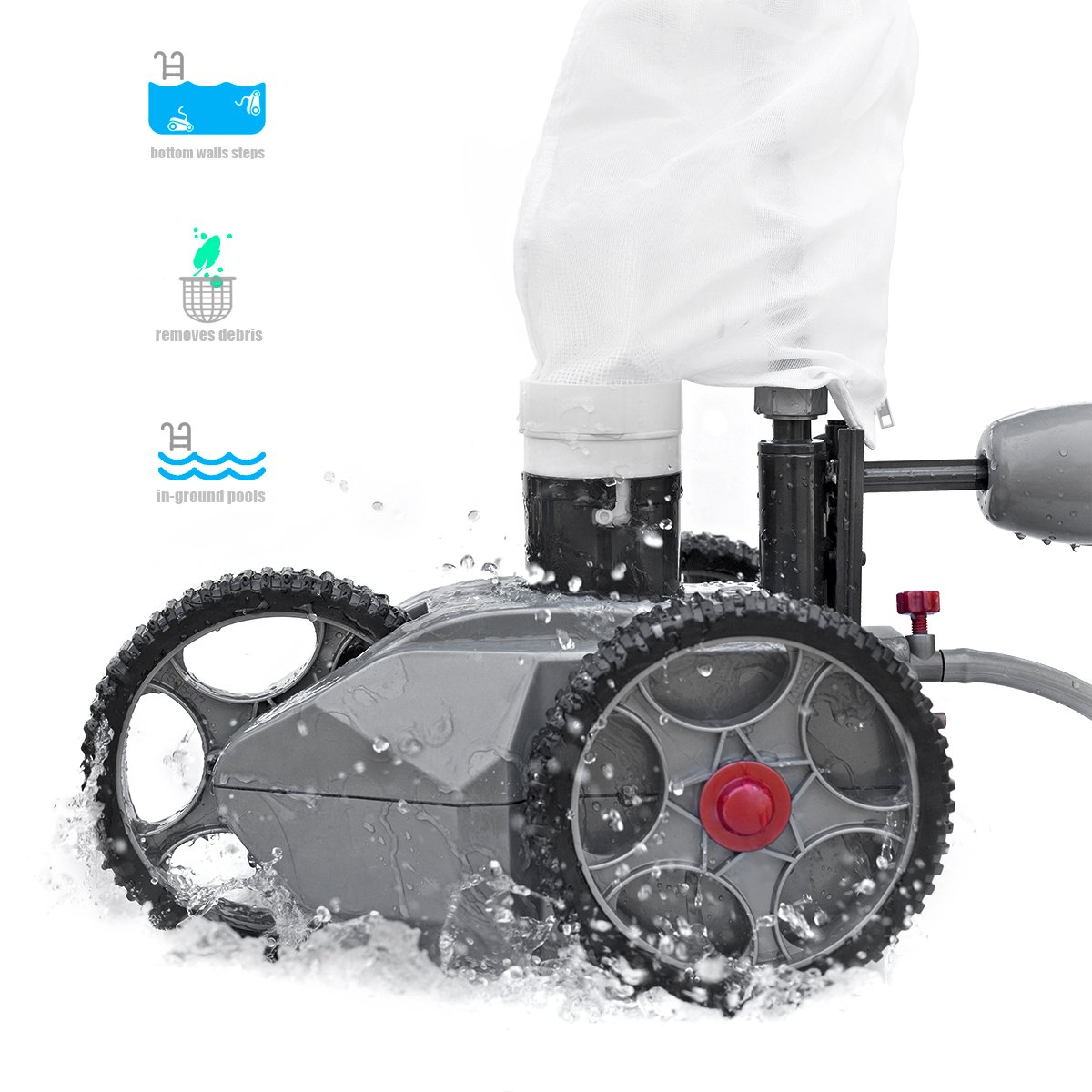XtremepowerUS Pressure Side Pool Cleaner