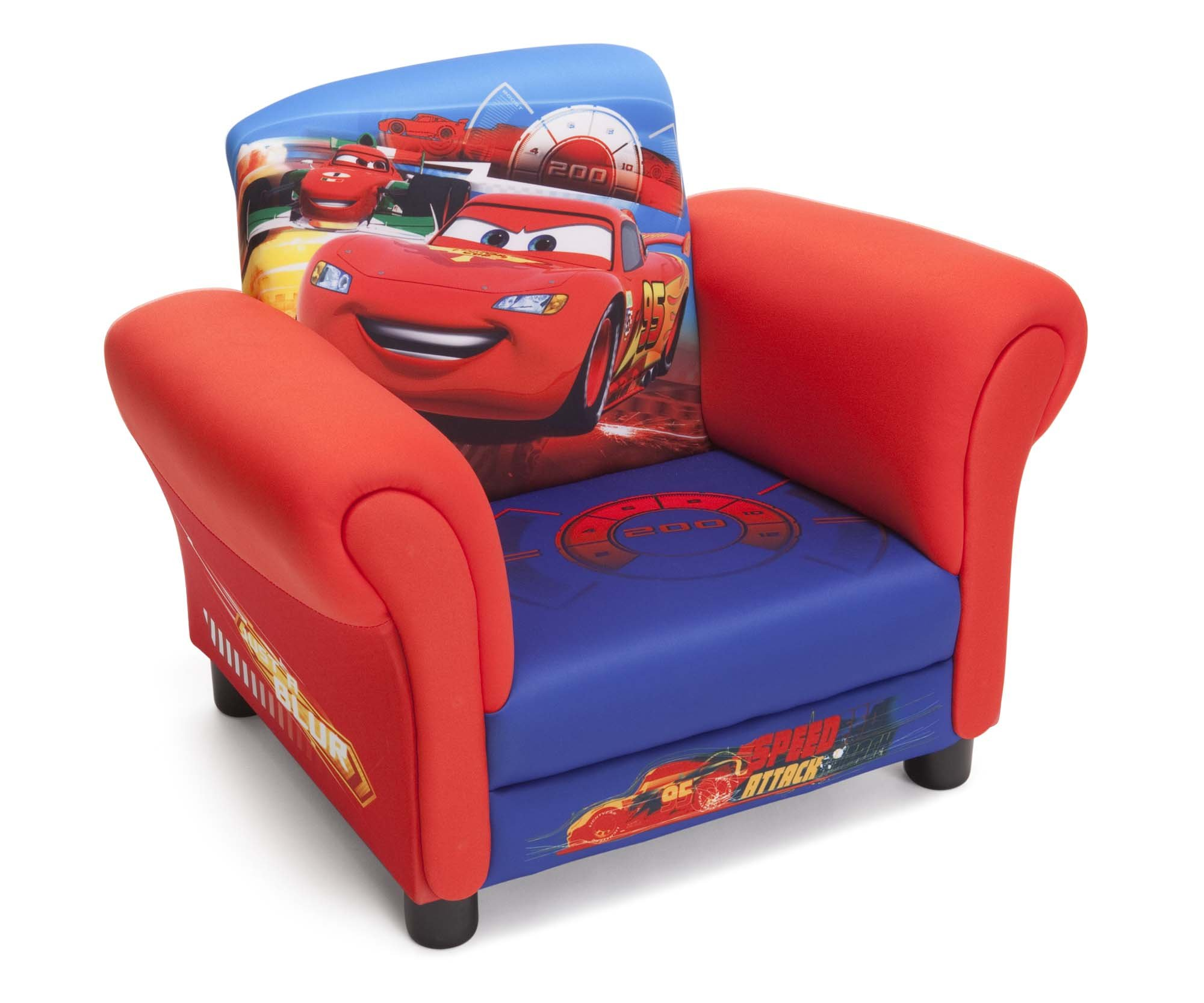 delta children 39 s products disney pixar cars upholstered chair