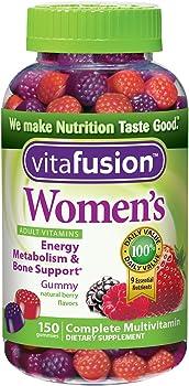 Vitafusion Women's Natural Berry Flavors Gummy Vitamins