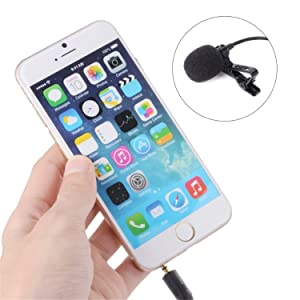 47'' BOYA BY-LM10 Deluxe Lavalier Lapel Clip-on Omnidirectional Condenser Microphone for iPad iPod Touch Mini Air Smartphone iPhone 8 8 plus 7 7 plus