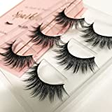 The Book of Lashes Volume 2: Sparkle - Reusable False Eyelashes - Cruelty Free - 3 Pairs