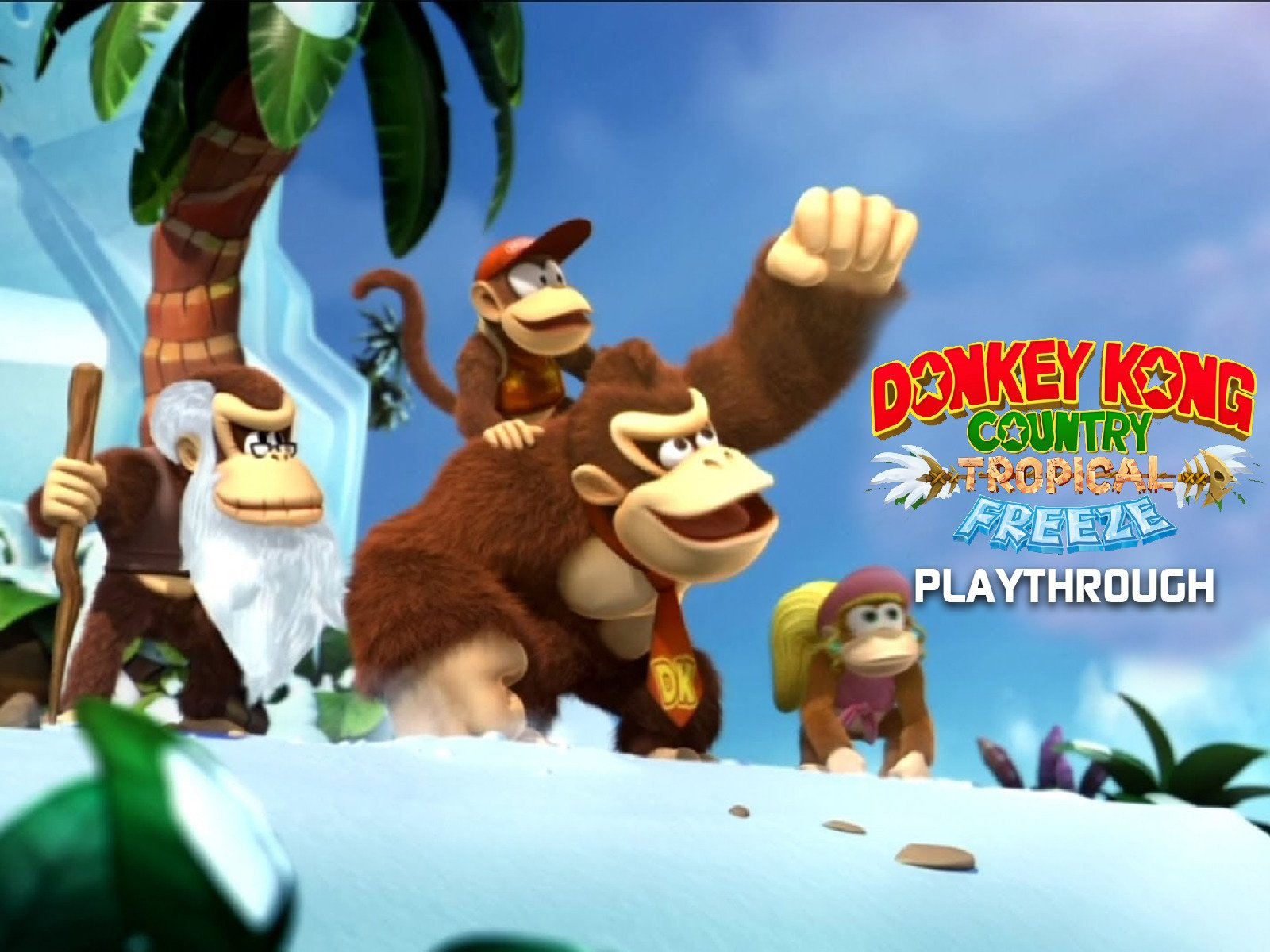 Clip: Donkey Kong Country Tropical Freeze Playthrough - Season 1