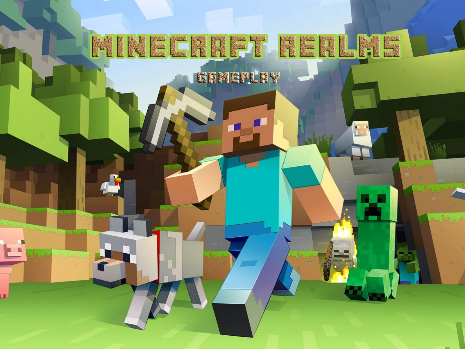 Clip: Minecraft Realms - Gameplay on Amazon Prime Instant Video UK