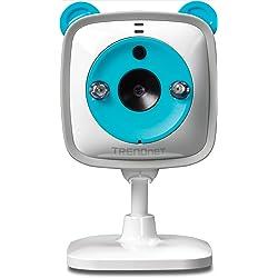 TRENDnet Wifi HD 720P 2-Way Audio Baby Camera (White)
