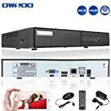 OWSOO TW-7016NVR 1080p 16CH H.264 P2P Network Video Recorder - Supports up to 16 x 1080p Network IP Cameras , Supports up to 3TB HDD (Not Included)