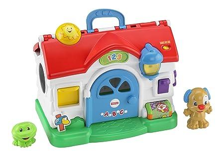 Fisher Price - Maison bavard, rire et apprendre (Mattel BGB75)
