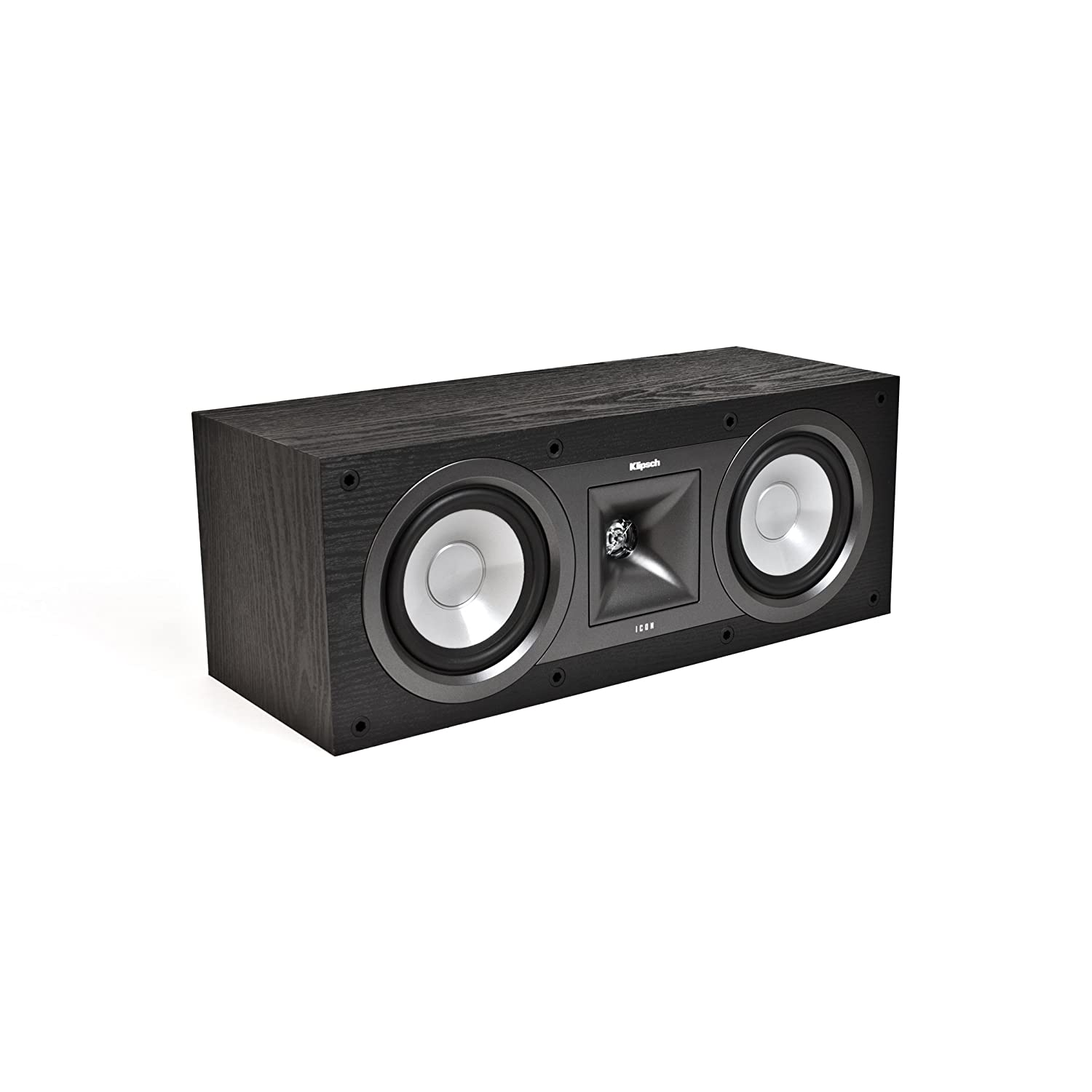 Klipsch KC-25 Icon 5-1/4-Inch Center Speaker (Black Ash)