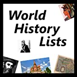 World History Lists