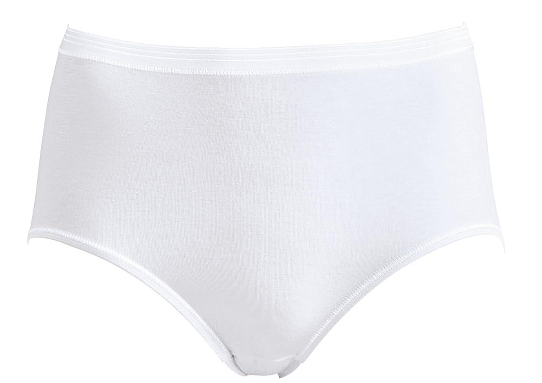 5er-Pack Taillenslip Slip Damen Farben: Weiß oder Schwarz, Größen: 48 - 50