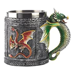 Royal Dragon Mug Serpent Medieval Collectible Stein