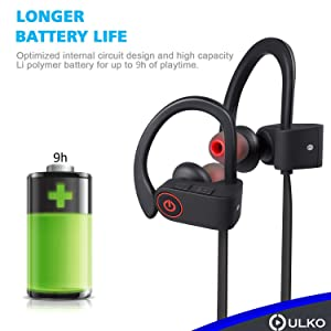 Wireless Headphones | Best Wireless Earbuds |Wireless Workout Earphones | Running Workout Sport Headphones | Sweatproof HD Stereo Earbuds | Noise Canc