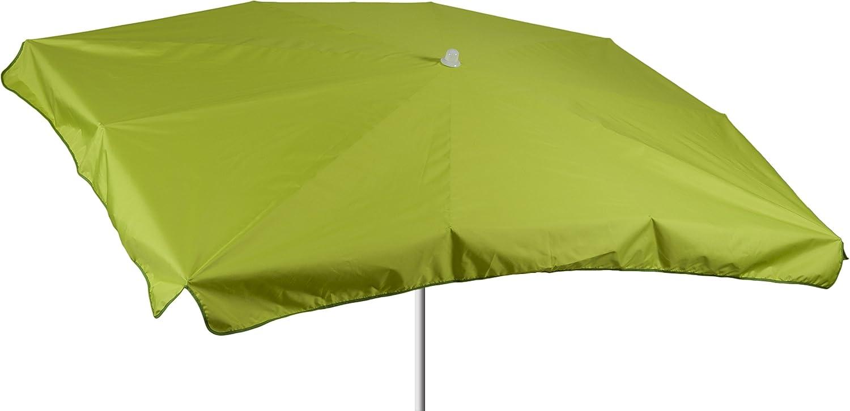 beo Sonnenschirme wasserabweisender, rechteckig, 130 x 200 cm, hellgrün kaufen