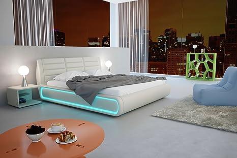 SAM® Polsterbett Doppelbett Sonic in weiß 180 x 220 cm